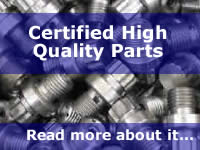 Certified High Quality Parts - Read More About It...